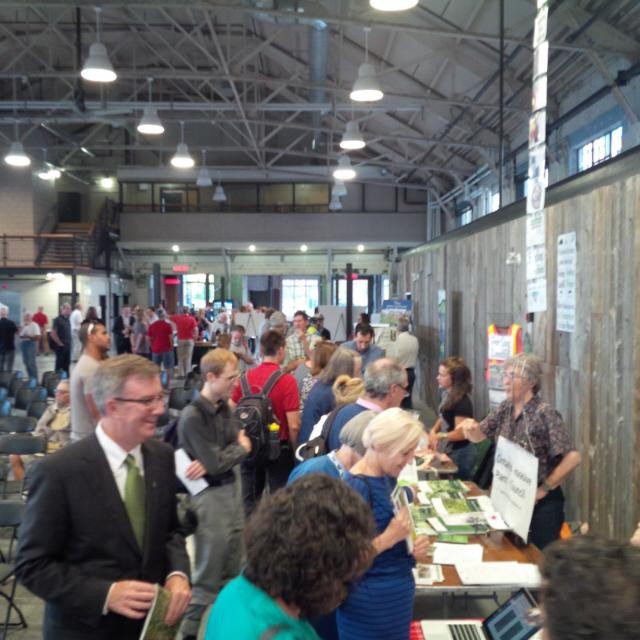 Full house at the Horticulture Building for NationalTreeDay!