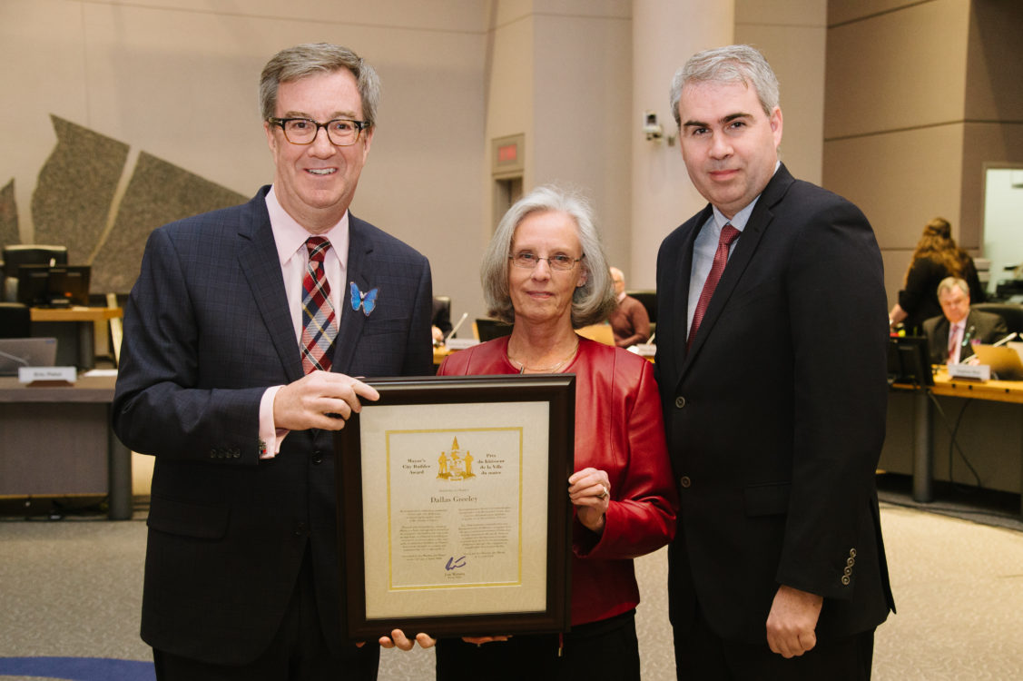 Awards certificates order of ottawa and more jim watson dallas greeley receives mayors city builder award malvernweather Image collections